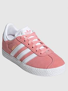 adidas-originals-childrensnbspgazelle-trainers-pink