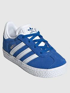 adidas-originals-infant-gazelle-inbsptrainers-blue