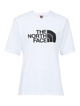 the-north-face-boyfriendnbspeasy-t-shirt-whiteblacknbsp