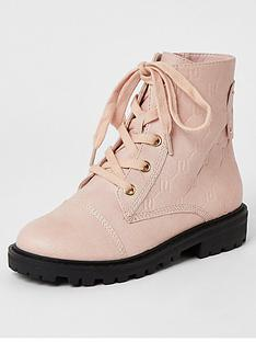 river-island-girls-monogram-lace-up-boots-pink