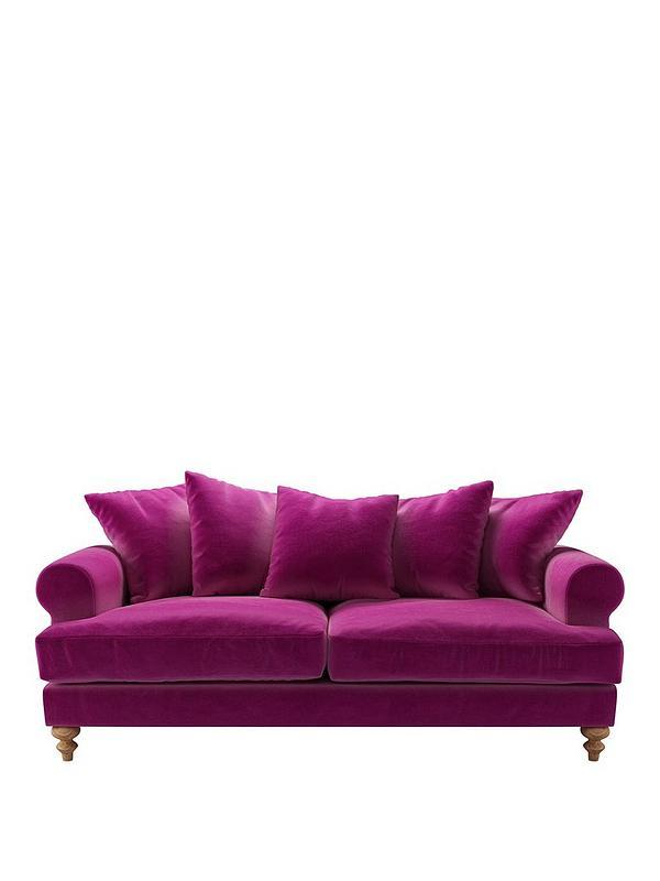 Teddy Fabric 3 Seater Sofa