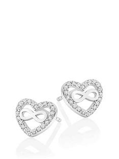 beaverbrooks-silver-cubic-zirconia-infinity-heart-earrings