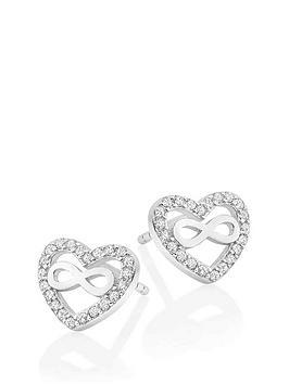 beaverbrooks-silver-cubic-zirconia-infinity-heart-earrings
