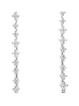 beaverbrooks-silver-cubic-zirconia-pear-drop-earrings