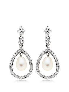 beaverbrooks-silver-cubic-zirconia-freshwater-pearl-drop-earrings