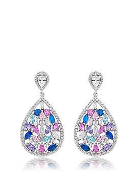 beaverbrooks-silver-multi-colour-cubic-zirconia-drop-earrings