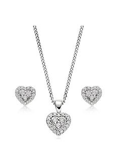 beaverbrooks-9ct-white-gold-diamond-heart-pendant-and-earrings-set