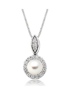 beaverbrooks-silver-pearl-and-cubic-zirconia-pendant