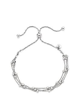 beaverbrooks-silver-triple-strand-bracelet