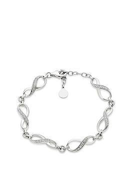beaverbrooks-silver-cubic-zirconia-infinity-bracelet