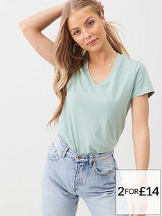 v-by-very-the-basic-v-neck-t-shirt-sage