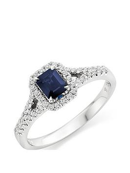 beaverbrooks-18ct-white-gold-diamond-and-sapphire-cluster-ring