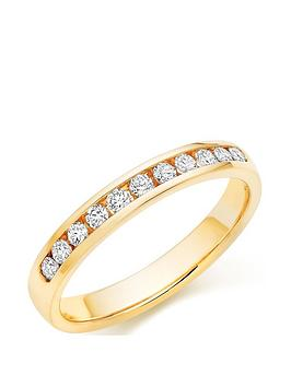 beaverbrooks-18ct-gold-diamond-half-eternity-ring