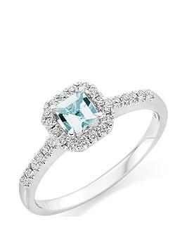 beaverbrooks-18ct-white-gold-diamond-and-aquamarine-ring
