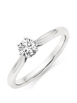beaverbrooks-9ct-white-gold-diamond-solitaire-ring
