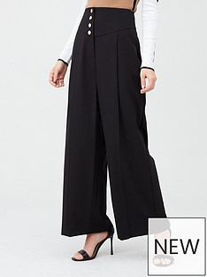 river-island-river-island-corset-waist-wide-leg-trousers-black