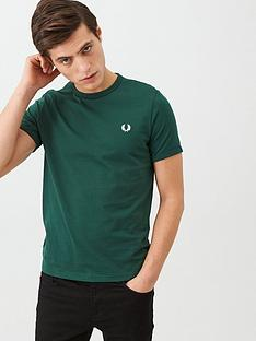 fred-perry-ringer-t-shirt-green