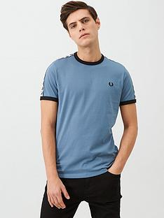 fred-perry-taped-ringer-t-shirt-blue