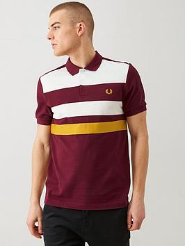 fred-perry-tape-detail-polo-shirt-port