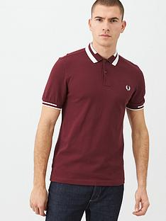 fred-perry-block-tipped-polo-shirt-port