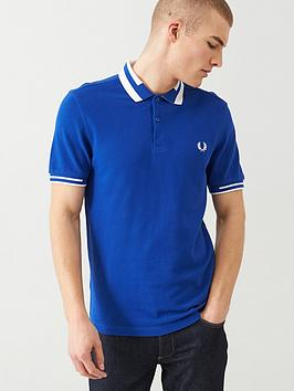 fred-perry-block-tipped-polo-shirt-cobalt-blue
