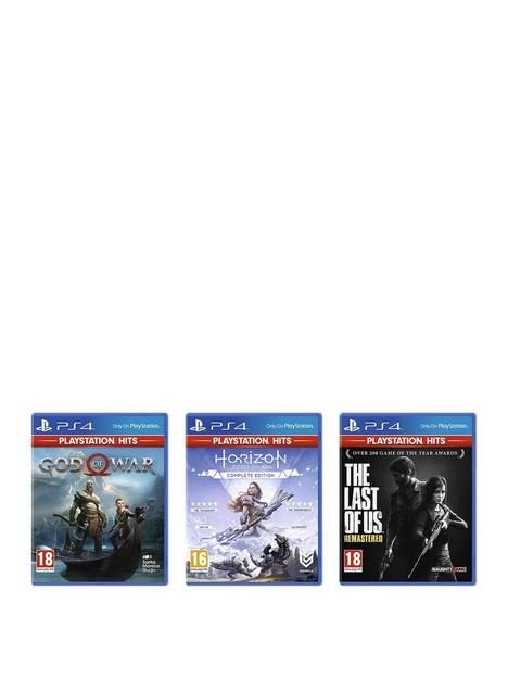 playstation-4-ps4-bundle-deal-the-last-of-us-ndash-remastered-horizon-zero-dawn-complete-edition-and-god-of-war
