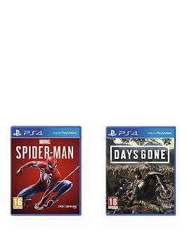 Playstation 4 Ps4 Bundle Deal: Marvel'S Spider-Man And Days Gone