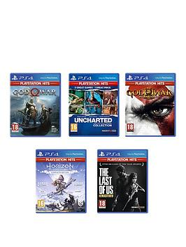 playstation-4-ps4-bundle-deal-the-last-of-us-ndash-remastered-god-of-war-god-of-war-3-remastered-uncharted-the-collection-and-horizon-zero-dawn-complete-edition