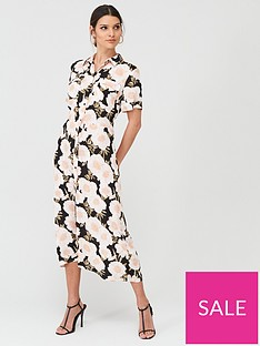 warehouse-warehouse-gardnia-floral-print-midi-shirt-dress