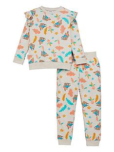 peter-rabbit-girls-frill-all-over-print-sweater-and-joggers-multi