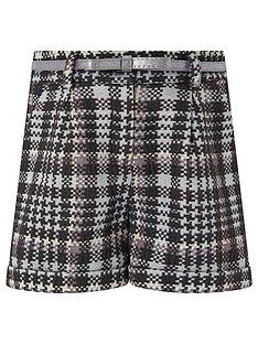 monsoon-girls-dolly-dogtooth-shorts-black