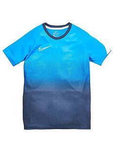 nike-boys-academy-gx-short-sleeved-tee-electric-blue