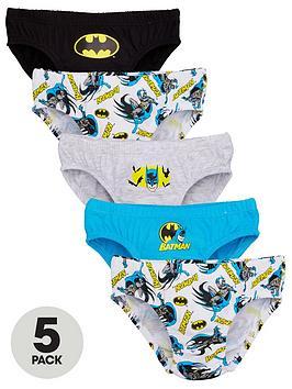 batman-boysnbspbriefs-5-pack-multi