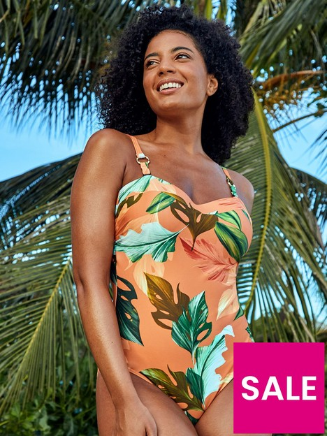figleaves-curacao-underwired-bandeau-strapless-swimsuit-rust
