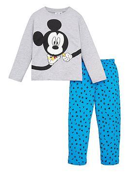 mickey-mouse-boys-magnifying-glass-pyjamas-grey