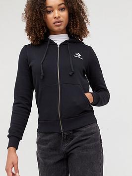 converse-embroidered-fleece-full-zip-hoodie-black