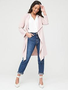 wallis-waterfall-duster-jacket-blush