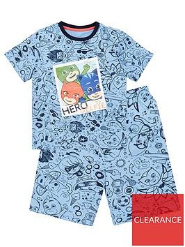 pj-masks-boys-photograph-t-shirt-and-short-pjs-blue