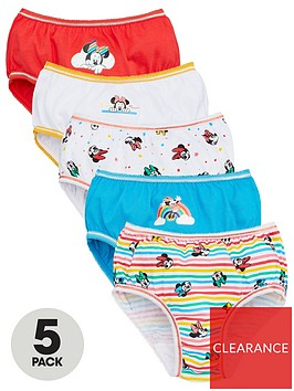minnie-mouse-girlsnbspknickers-5-pack-multi