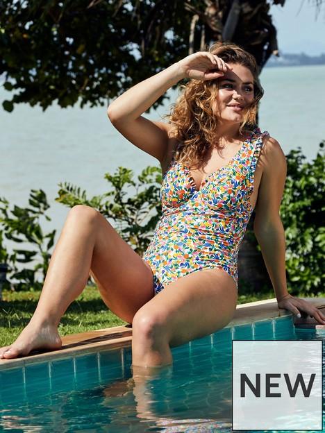 figleaves-tutti-frutti-underwired-high-apex-frill-tummy-control-swimsuit-multi