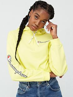champion-cropped-hooded-sweatshirt-yellownbsp