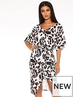 quiz-quiz-scuba-crepe-animal-print-batwing-sleeve-wrap-midi-dress
