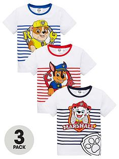 paw-patrol-pack-of-3-boys-short-sleeve-t-shirts-multi