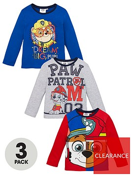 paw-patrol-boys-3-pack-long-sleeve-t-shirts-multi