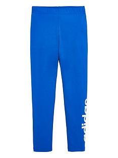 adidas-childrens-leggings-blue