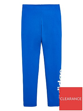 adidas-childrens-leggings-blue