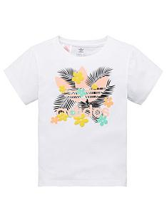adidas-originals-childrens-floral-trefoil-short-sleeve-t-shirt-white
