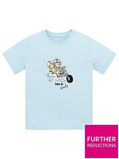 love-is-boys-love-ishellipfamily-motorbike-short-sleeve-t-shirt-blue