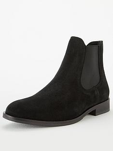 selected-homme-louise-suede-chelsea-boots-black