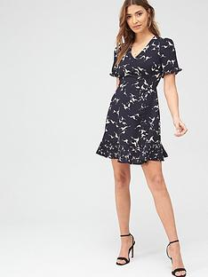 oasis-shadow-bird-shift-dress-multi-bluenbsp
